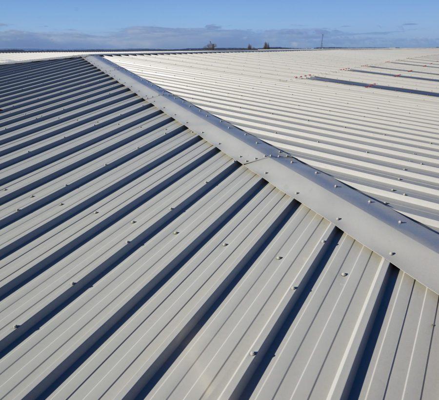 Kingspan Trapezoidal roofing